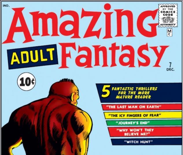 Amazing Adult Fantasy #7