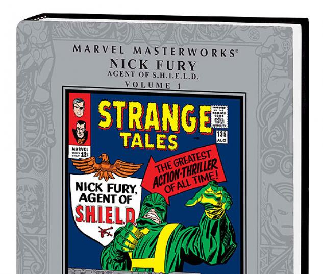 Marvel Masterworks: Nick Fury, Agent of S.H.I.E.L.D. Vol. 1 (Hardcover ...
