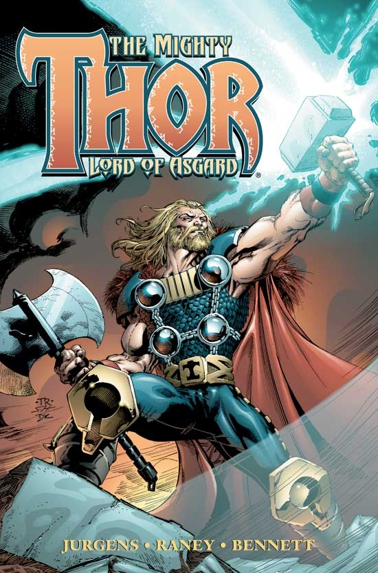 THOR VOL. II: LORD OF ASGARD TPB COVER
