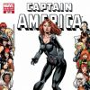 CAPTAIN AMERICA #609 WOMEN OF MARVEL FRAME VARIANT cover by Mike Perkins