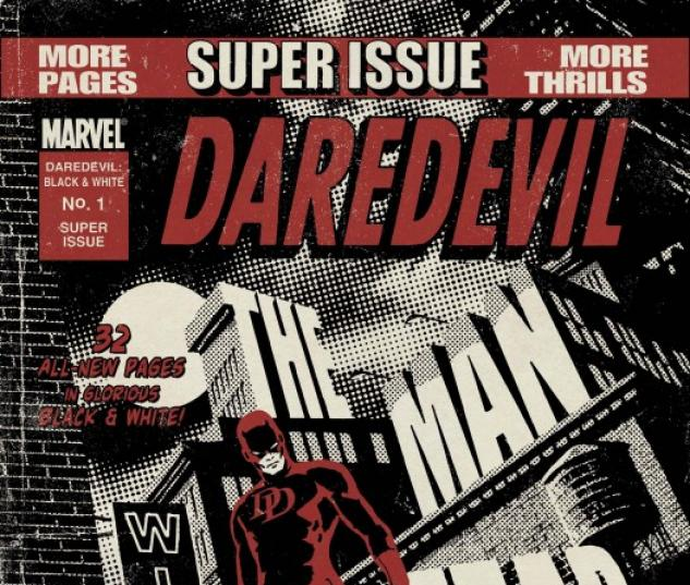Daredevil: Black and White (2010) #1