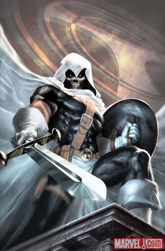 TASKMASTER #1 cover by Alex Garner
