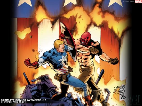 Ultimate Comics Avengers (2009) #6 Wallpaper