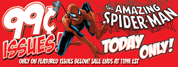 Get Amazing Spider-Man Issues for 99 Cents!