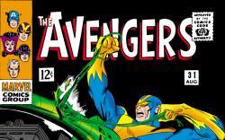 Avengers (1963) #31 cover