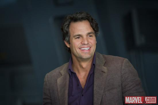 Mark Ruffalo stars as Bruce Banner/the Hulk in Marvel's The Avengers