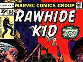 Rawhide Kid #146 cover by Tony DeZuniga