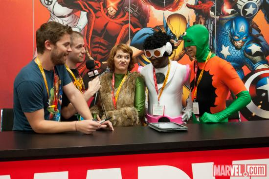 SDCC 2012: Blake Garris & Ben Morse Interview the All Winners Squad