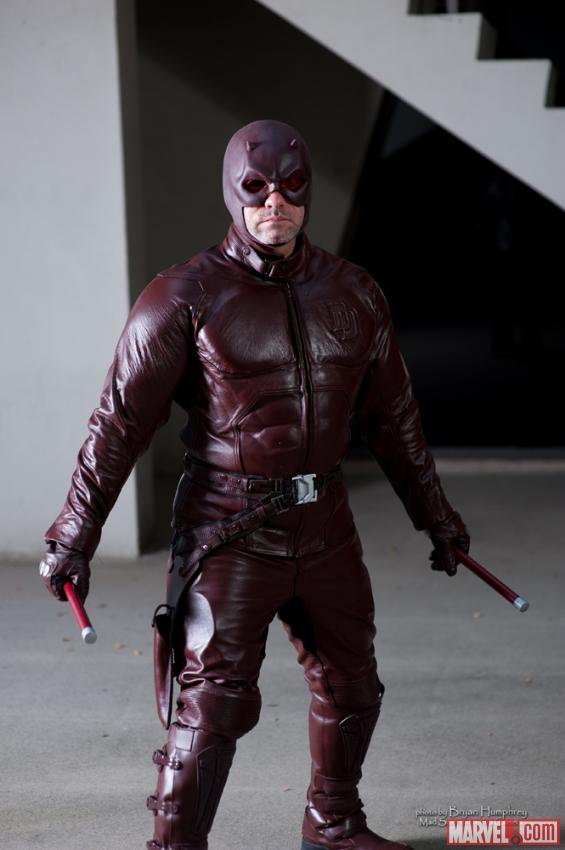 Marvel Costuming: Daredevil at Dragon*Con 2012