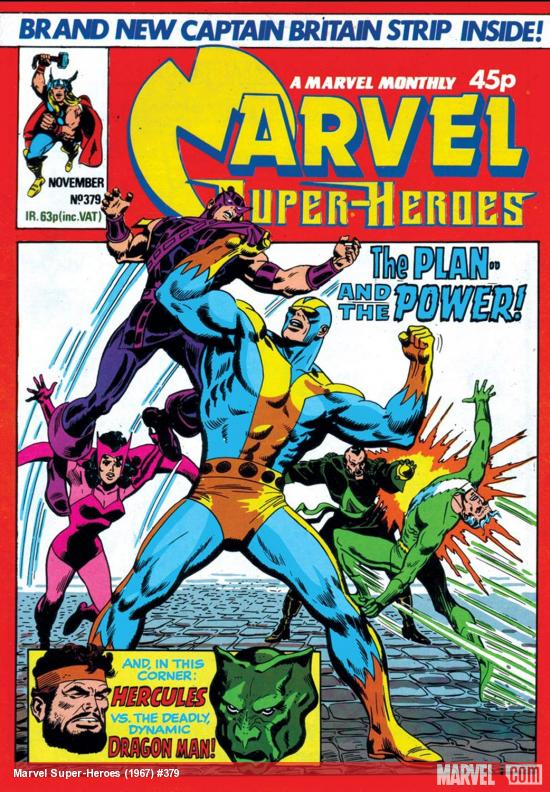 Marvel Super-Heroes (1967) #379 Cover