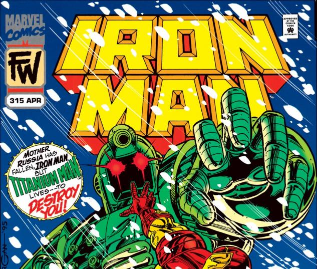 Iron Man (1968) #315 Cover