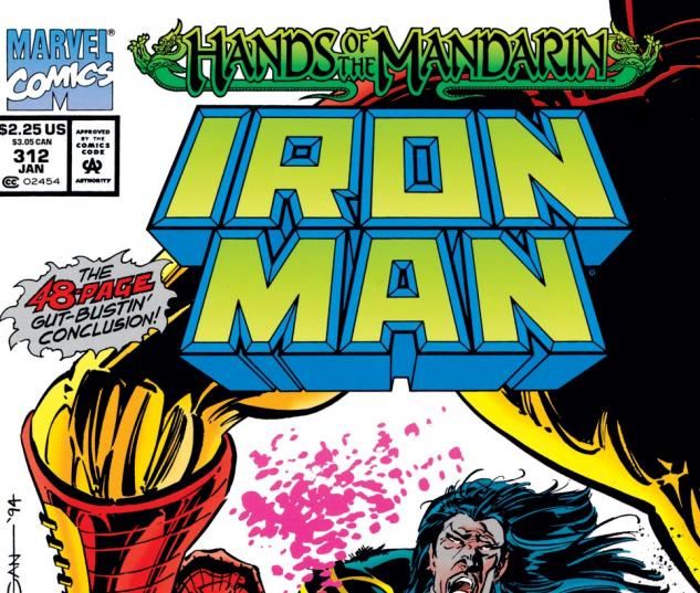 Iron Man (1968) #312 Cover