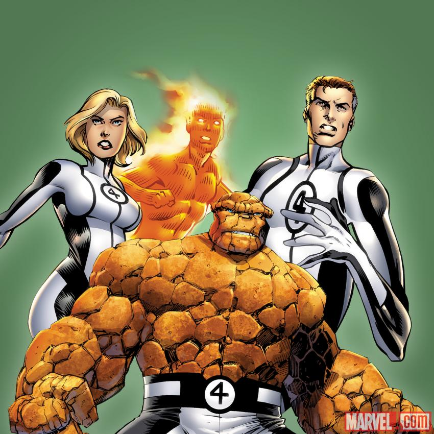 fantastic 4 hero names
