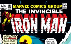 Iron Man (1968) #158 Cover