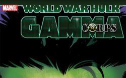 World War Hulk: Gamma Corps TPB