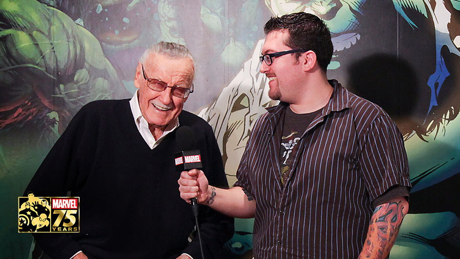Watch the Marvel 75th Anniversary Stan Lee Q&A