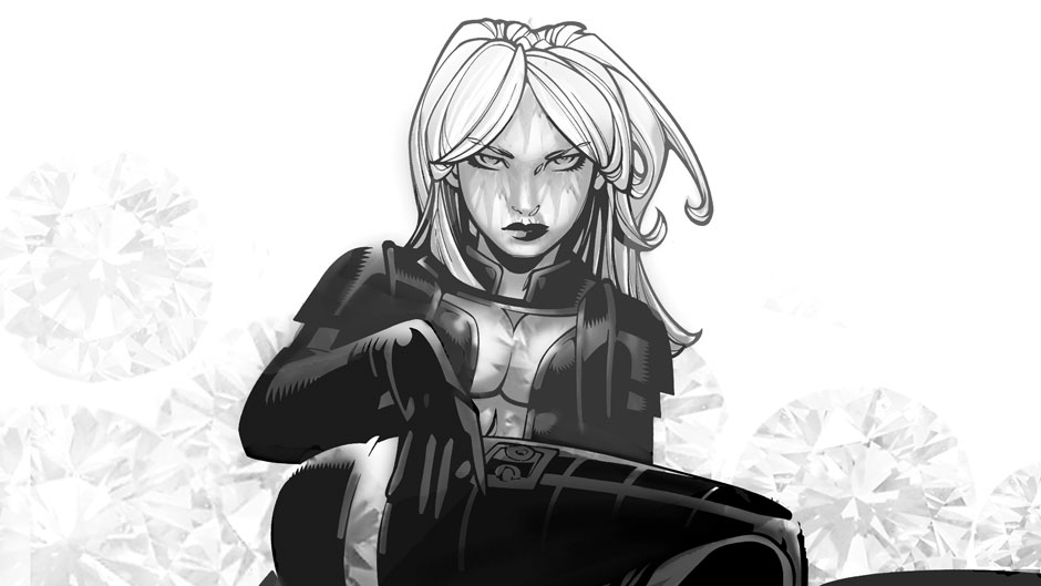 Back To Work With Emma Frost