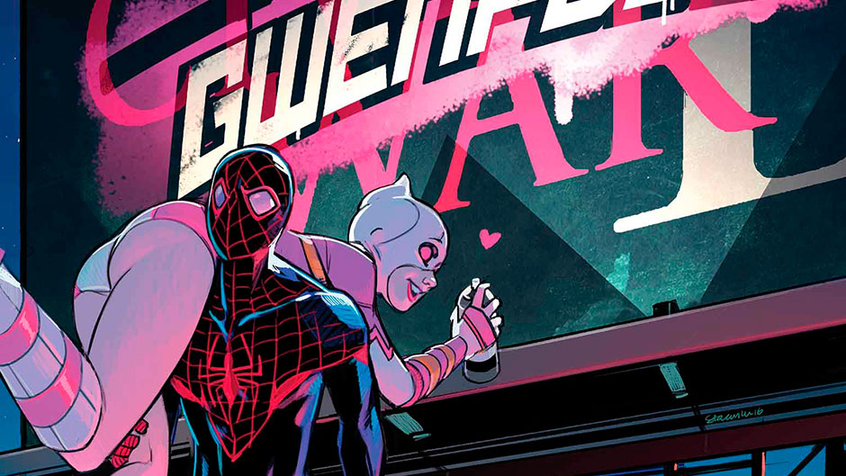 Gwenpool and Spider-Man