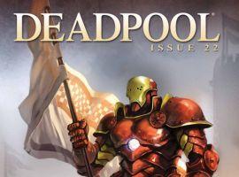 Deadpool (2008) #22 (IRON MAN BY DESIGN VARIANT)