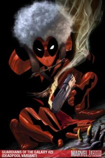 Guardians of the Galaxy (2008) #23 (DEADPOOL VARIANT)
