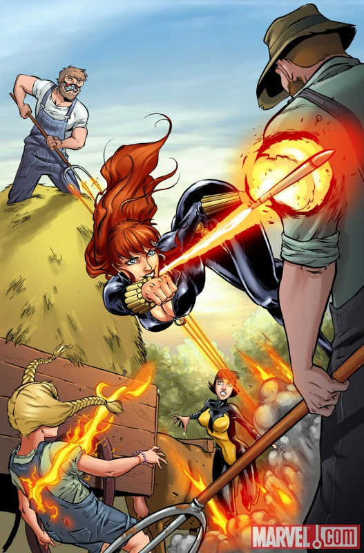 Black Widow &amp; the Marvel Girls (2009) #2