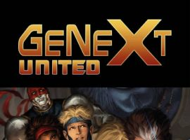 GENEXT UNITED #3, intro page