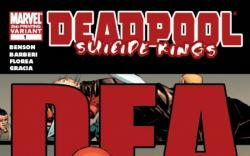 DEADPOOL: SUICIDE KINGS #1 (2ND PRINTING VARIANT)