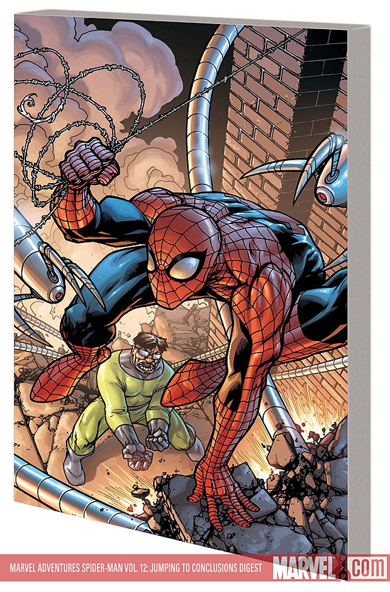 MARVEL ADVENTURES SPIDER-MAN VOL. 12: JUMPING TO CONCLUSIONS DIGEST #0