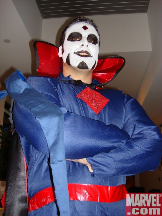 Shaun Avent as Mr. Sinister