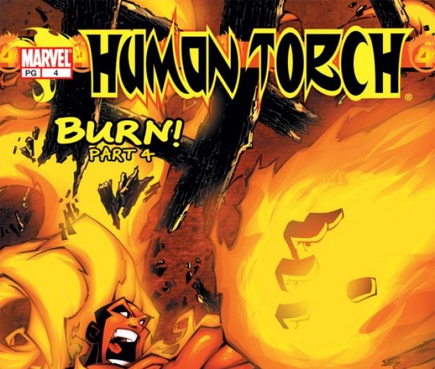 HUMAN TORCH #4