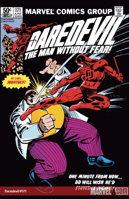 DAREDEVIL #171 COVER
