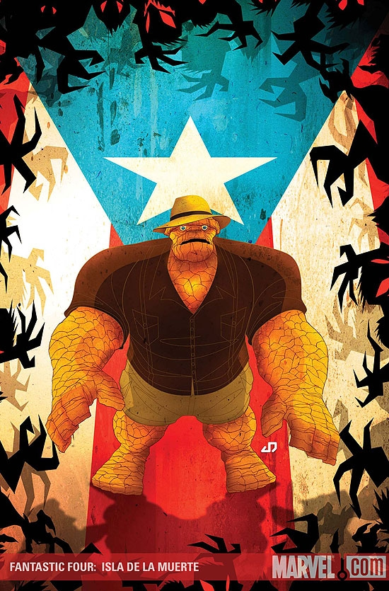 FANTASTIC FOUR: ISLA DE LA MUERTE #1