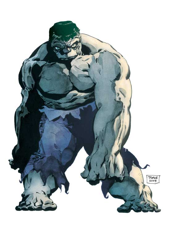 HULK: GRAY (2006) #1 COVER