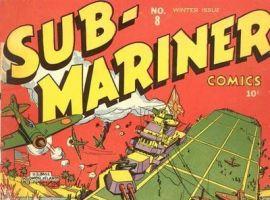 SUB-MARINER COMICS #8 cover