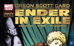 ENDER IN EXILE #2 cover by Sebastian Fiumara