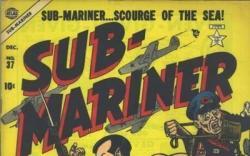 SUB-MARINER COMICS #37 cover