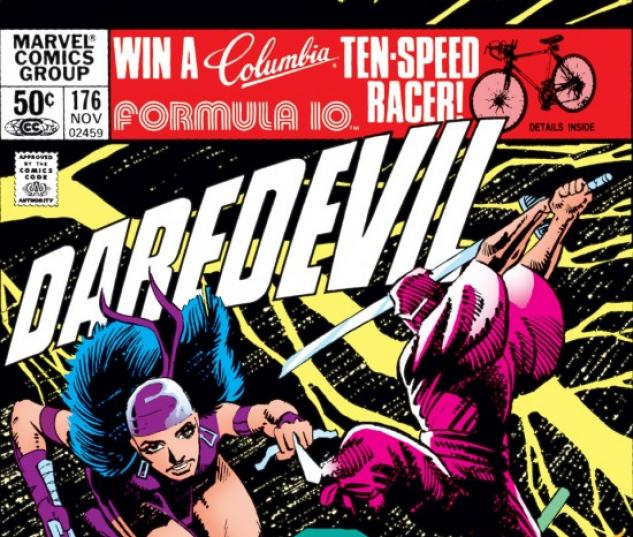DAREDEVIL #176 COVER