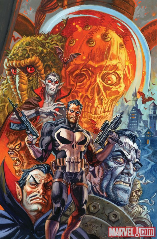 Image Featuring Dracula, Man-Thing, Morbius