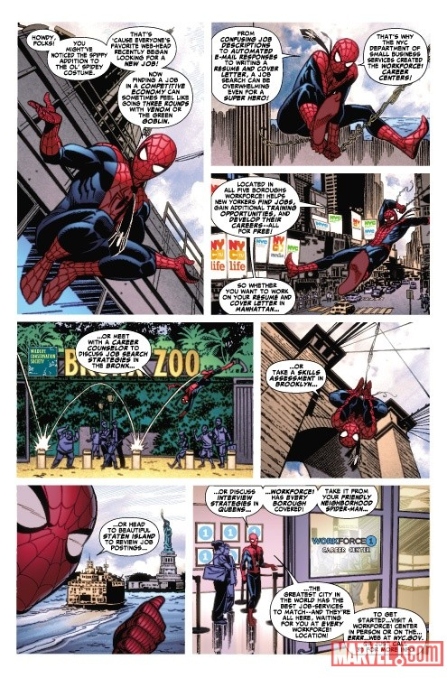 Amazing Spider-Man: You're Hired preview art