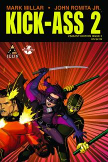 Kick-Ass 2 (2010) #2 (YU TRIPLE VARIANT)
