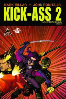 Kick-Ass 2 #2  (YU TRIPLE VARIANT)