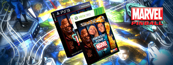 Marvel Pinball Fantastic Four DLC Coming Soon