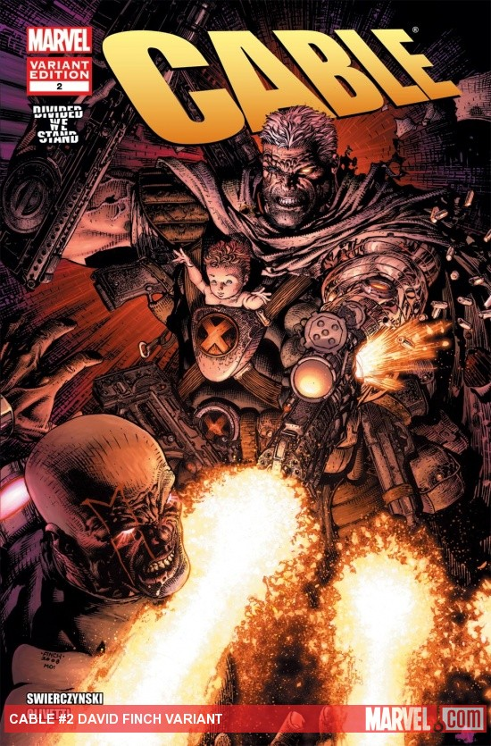 Cable (2008) #2, David Finch Variant