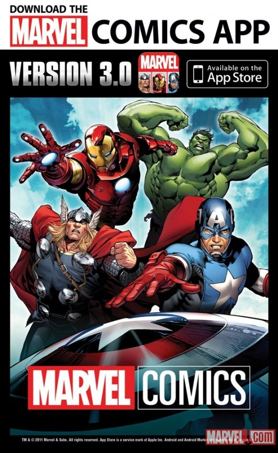 Marvel Comics app 3.0