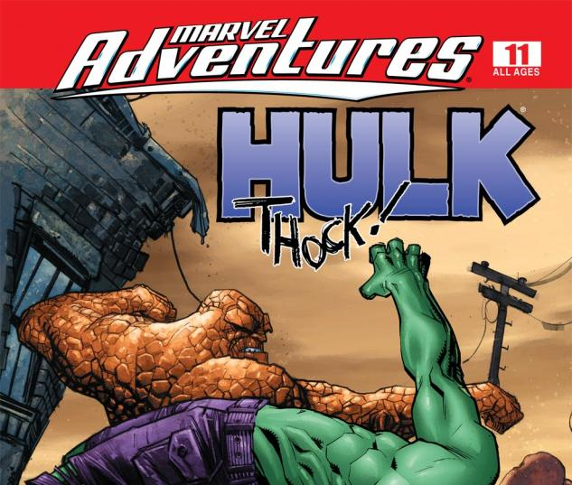 Marvel Adventures Hulk (2007) #11