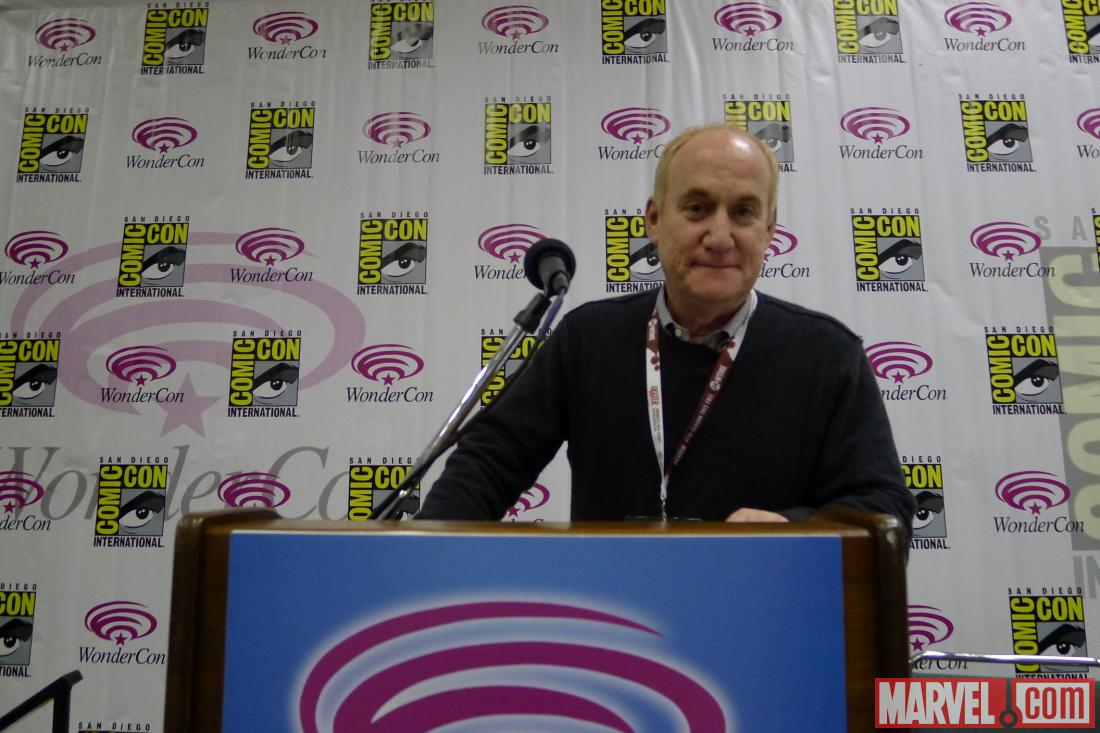 Head of Marvel Television Jeph Loeb at WonderCon 2012