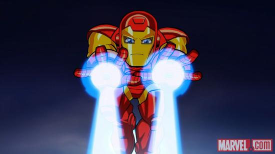 Iron Man in The Super Hero Squad Show