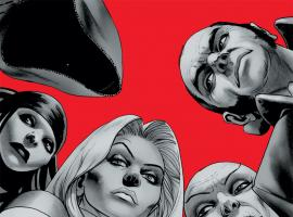 Emma Frost and the Hellfire Club in Astonishing X-Men: Torn