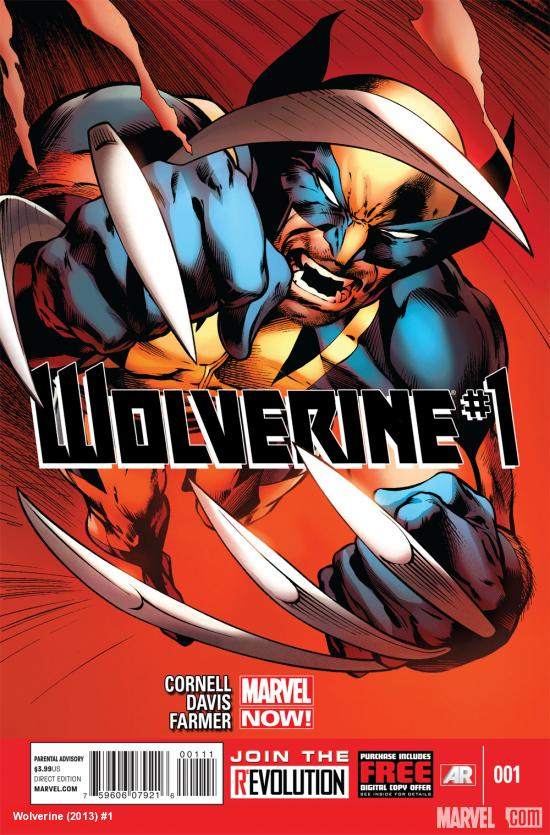 Wolverine (2013) #1 cover by Alan Davis