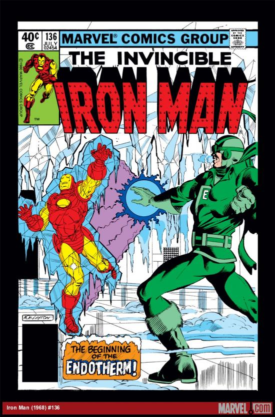 Iron Man (1968) #136 Cover
